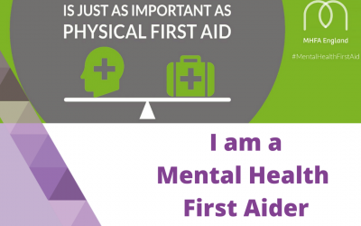 I am a Mental Health First Aider