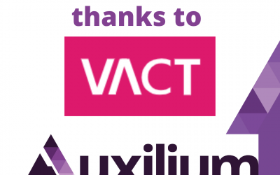 Thankyou VACT for being part of my Auxilium journey.