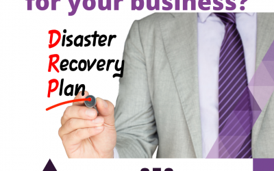 Why having a Disaster Recovery Plan for a small business is essential.